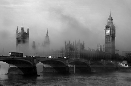 Foggy old London